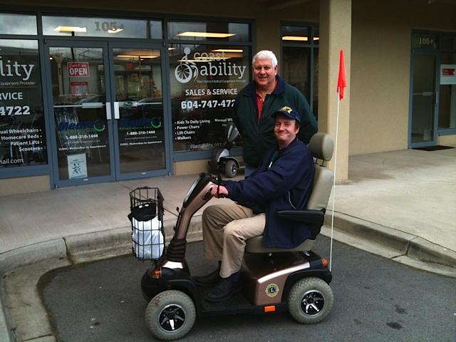 Sunshine Coast Lions Club Mobility Program