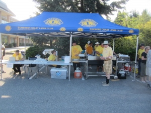 Canada Day Pancake Breakfast @ Cowrie St in front of Pharmasave | Sechelt | British Columbia | Canada